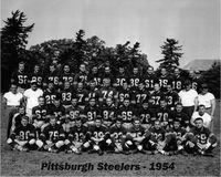 1954 steelers dewey brundage 83